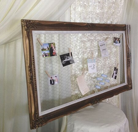 Gold Frame Seating Arrangement