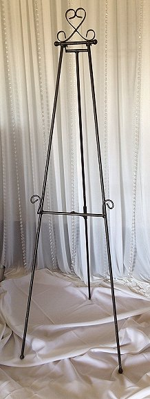 Rubbed Bronze Easel