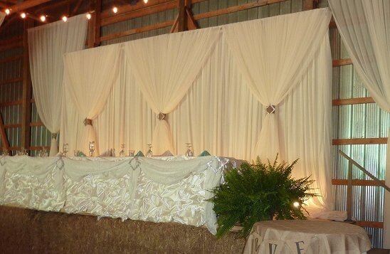 Classic Backdrop all in ivory