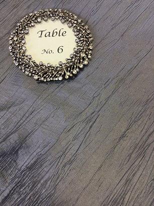 Charcoal Crinkle Taffeta