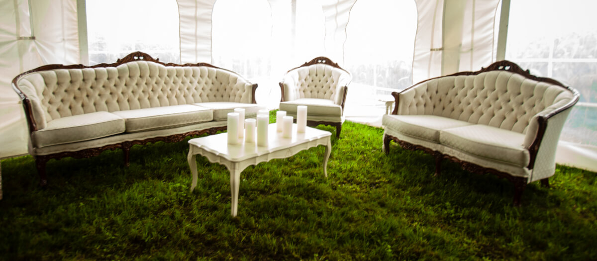 Picture of: Vintage Lounge Set French Provincial Coffee Table Njs Design Event And Party Rentals