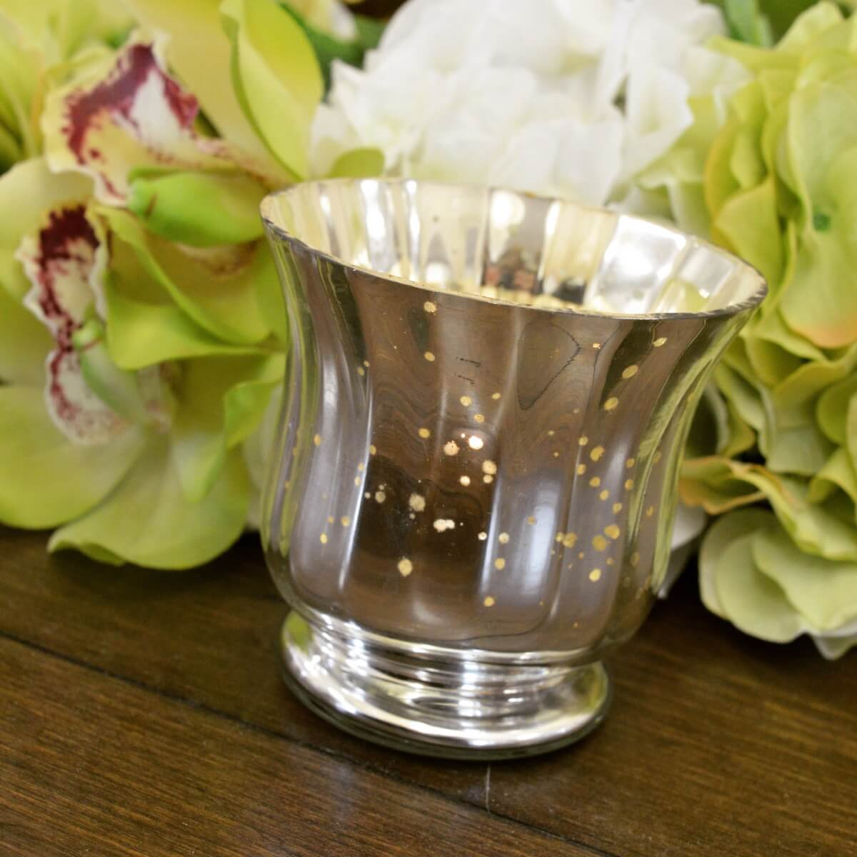 Mercury Sparkle Votive Holder