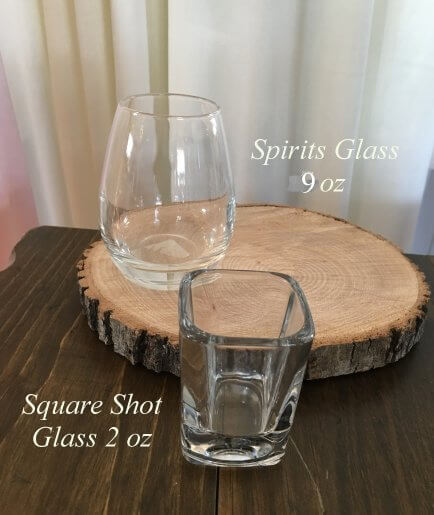 Spirits Glass | Square Shot Glass