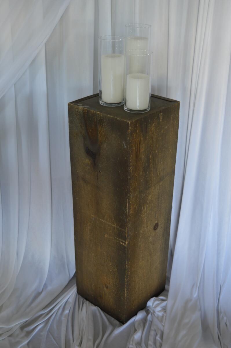 Rustic Wooden Columns