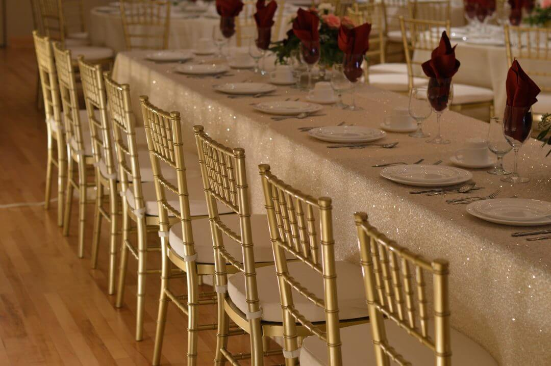 Champagne Gold Chiavari Chairs